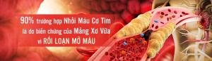mỡ máu cao gây biến chứng đột quỵ