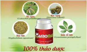 Hamomax là sản phẩm đầu tiên được chiết xuất Nần nghệ
